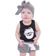 >> Click to Buy << 2017 Newborn Baby Boys Girls Bodysuit Cotton Cute Outfits Set Clothes #Affiliate