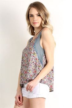 High Low Shell Top - ME Boutique Online