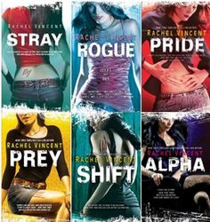 Shifters series by Rachel Vincent Paranormal Romance Reads - Urban Fantasy - loved it!!