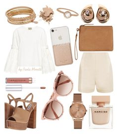 """""""Nikki Reed Inspiration by Paola Moretti"""" by paola-moretti on Polyvore featuring La Perla, Sea, New York, Steve Madden, Status Anxiety, Kate Spade, Narciso Rodriguez, Bobbi Brown Cosmetics, Christian Dior, Megan Thorne and Jennifer Lopez"""