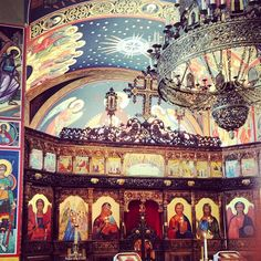 My Home Parish in Colorado Springs <3 {Holy Theophany Orthodox Church}   Photo Credit kyleforti on Instagram