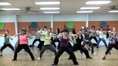 """THRIFTSHOP"" by Macklemore - Choreography by Lauren Fitz for Dance Fitness, via YouTube."