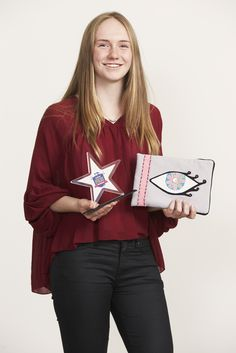Brother Design Stars Craft years 10-13 winner Emily Crosse