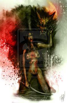 Werewolf Baby by Volkniv on DeviantArt