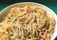 Italian Pecorino Toscano Cheese And Pasta  Ingredients    1 lb package of  Angel Hair Pasta    1 Tbs of extra virgin olive oil    1/4 tsp of parsley     1 tsp of ground black pepper     2 cups of Cherry Tomatoes sliced in half or quarters     1/3 cup of finely grated Pecorino Toscano cheese    1 fresh green pepper diced    1 fresh red pepper diced    2 cups of quartered and drained artichokes