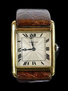 2cba651f7ba Vintage Cartier ~ Paris Relógios Cartier Femininos