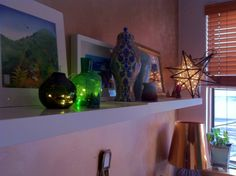 b's apartment shelf
