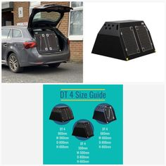 Toyota Avensis Estate (2009-Present) Dog Car Travel Crate -The DT 4 About the Toyota Avensis Estate (2009-Present) Dog Car Travel Crate -The DT 4 Our DT 4 model DT Box is the perfect Dog Car Crate for the Toyota Avensis Estate (2009-Present). The DT 4 is a great box for estate cars, Jeeps and SUV's and comes in three size options. The largest one (960mm) has two compartments with enough room for two medium to large dog. This crate comes with a removable centre divider which frees up more… Toyota Avensis, Pet Vet, Dog Crates, The Perfect Dog, Stainless Steel Doors, Dog Car, Car Travel, Large Dogs, Cool Suits