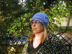 Gorro para la primavera realizado en crochet