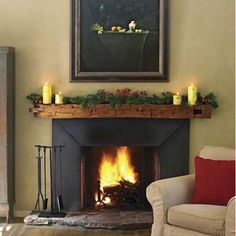 rustic fireplace mantel beam brace distressed glazed craftsman cabin home cozy ebay home decorating ideas pinterest fireplaces braces and fireplace