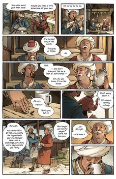 Delilah Dirk and the Turkish Lieutenant | Prologue – Pages 3, 4