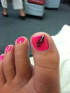Cool summer pedicure nail art ideas 10