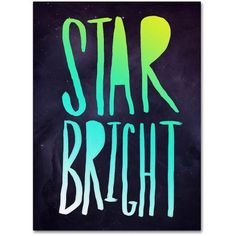 Trademark Fine Art Star Bright Canvas Art by Leah Flores, Size: 24 x 32, Multicolor
