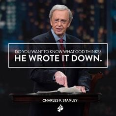 "The Bible is the most valuable resource for making decisions. Watch ""Making Wise Decisions"" from Dr. Charles Stanley at intouch.org/watch."