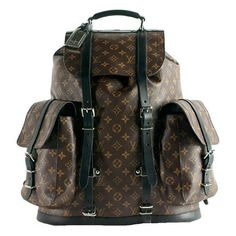 LOUIS VUITTON Monogram Canvas Christopher Backpack