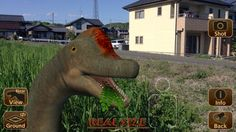 AR Dinopark - a fantastic iOS app for bringing augmented reality dinosaurs to life