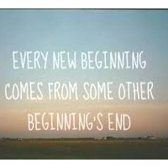 Embrace every new beginning