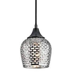 View the Kichler 43489SLV Annata 1-Bulb Indoor Mini Pendant at LightingDirect.com.