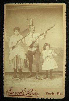 Unlabeled. York, PA. Looks like a traveling shooting family to me.