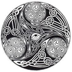 Celtic Eye Knot by ppunker on DeviantArt