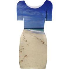 Beach Short Sleeved Bodycon Dress - Available Here: http://printallover.me/products/0000000p-beach-21