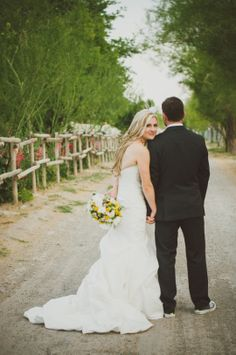 Yellow + Grey Glam Wedding At Home | Chantal Marie Photography | Oh Lovely Day