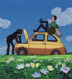 """Lupin the Third: The Castle of Cagliostro"" directed by Hayao Miyazaki"