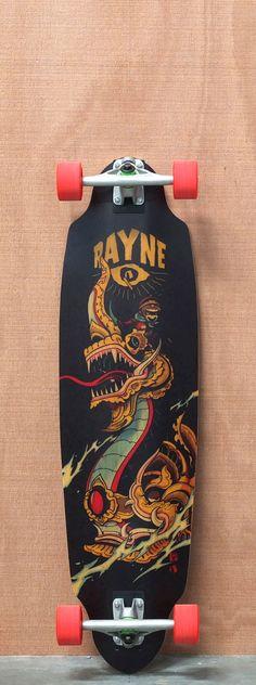 """Rayne 38"""" Avenger Longboard Complete"""