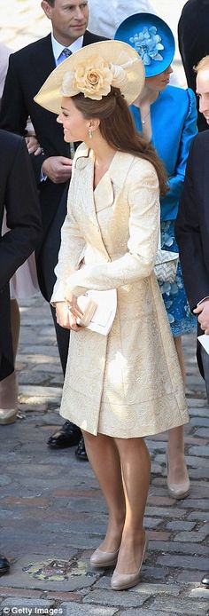 She wore it again for the nuptials of Zara and Mike Tindall in 2011
