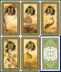 i ching cards