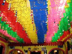 Taqueria Cancun ceiling by Nicole Lee, via Flickr