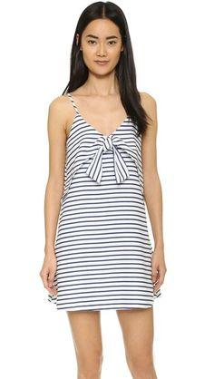 Tie Front Dress // Shopbop