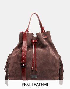 Bild 1 von Paul's Boutique – Cora – Tasche aus Leder und Wildleder