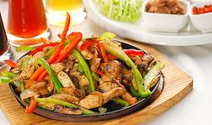 A gluten free chicken fajitas recipe that will knock your socks off. It's full of flavor and similar to Chile's fajitas. See gluten-free soy sauce brands. Easy Chicken Fajitas, Chicken Fajita Recipe, Marinated Chicken, Roasted Chicken, Baked Chicken, Enchiladas, Mexican Chicken Recipes, Cooking Recipes, Healthy Recipes