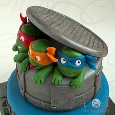 Ninja turtle cake for Reno