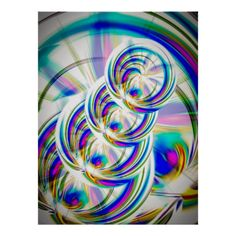 Abstrakt in Perfektion 8 Plakatdrucke