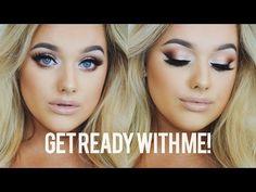 Make Blue eyes POP! Makeup Goals, Makeup Tips, Eye Makeup, Makeup Tutorials, Makeup Ideas, Rachel Leary, Revolution Palette, Blue Eyes Pop, Formal Makeup