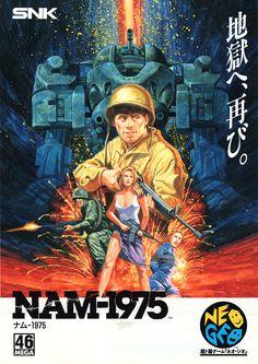 Nam-1975 / SNK (1990) #neogeo #retro #games #arcade #art