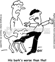 Bark Worse Than Bite funny cartoons from CartoonStock directory - the world's largest on-line collection of cartoons and comics. Dog Cartoons, Cartoon Dog, The Originals, Comics, Artist, Dogs, Fictional Characters, Artists, Doggies