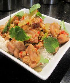 Luke Nguyen's Lemongrass Chilli Chicken - Ga Xao Xa Ot