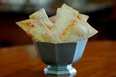 Savoring Time in the Kitchen: Lavash Crackers ~ Pasta Roller Style