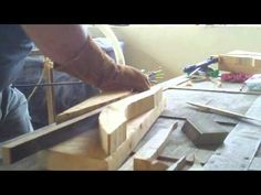 Me steam bending wood in my back yard with a home built wood steamer. I think the whole rig cost me $40. Considering that this is the very first time I've ev...