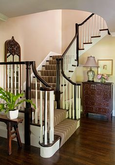 Best I Want To Redo Our Stairs With Carpet Running Up The 640 x 480