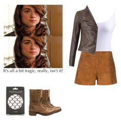 """""""Allison Argent - tw / teen wolf"""" by shadyannon ❤ liked on Polyvore featuring Topshop, rag & bone and Steve Madden"""