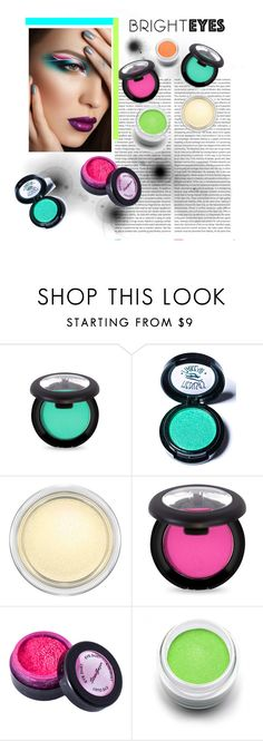 """""""Bright Eyes."""" by alyssalouis ❤ liked on Polyvore featuring beauty, Oris, Medusa's Makeup, MAC Cosmetics, Stargazer, Sugarpill and brighteyes"""
