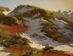 Breezy Dunes by Laurie Kersey Oil ~ 11 x 14