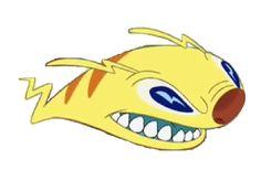 Zap, A. Disney Images, Disney Art, Lilo And Stitch Characters, Disney Characters, Stitch Cousins, Lilo And Stitch Experiments, 626 Stitch, Bane Batman, Toothless And Stitch