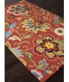 RugStudio presents Addison And Banks Hand Tufted Abr1050 Velvet Red Hand-Tufted, Good Quality Area Rug