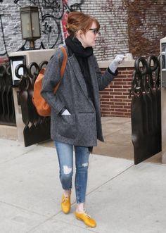Emma Stone Casual Look