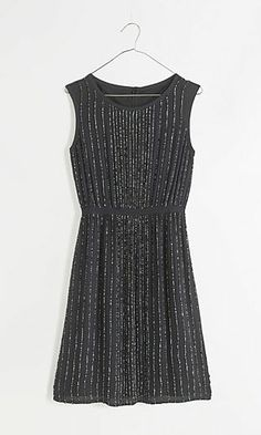 Sequin Line Dress @Pascale Lemay Lemay Lemay De Groof